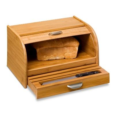 Honey-Can-Do Bamboo Bread Box