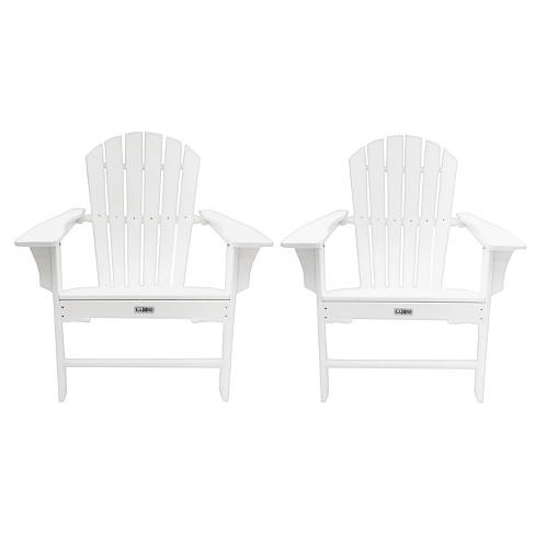 Hampton 2pk Outdoor Patio Adirondack Chair - LuXeo - image 1 of 9