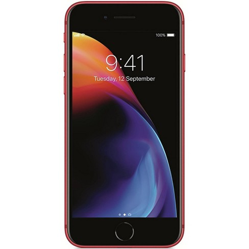 Apple iPhone Pre-Owned 8 Unlocked (64GB) GSM Phone - Red - image 1 of 4