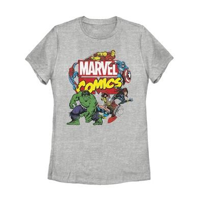 Women's Marvel Comics T-Shirt