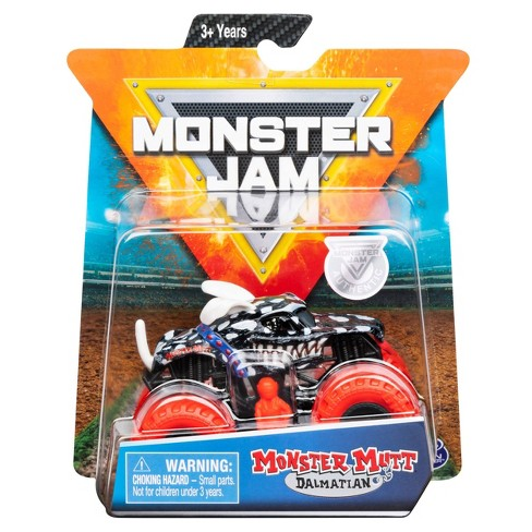 Monster Jam 1:64 Single Pack Assorted - Dalmatian Invese - image 1 of 4