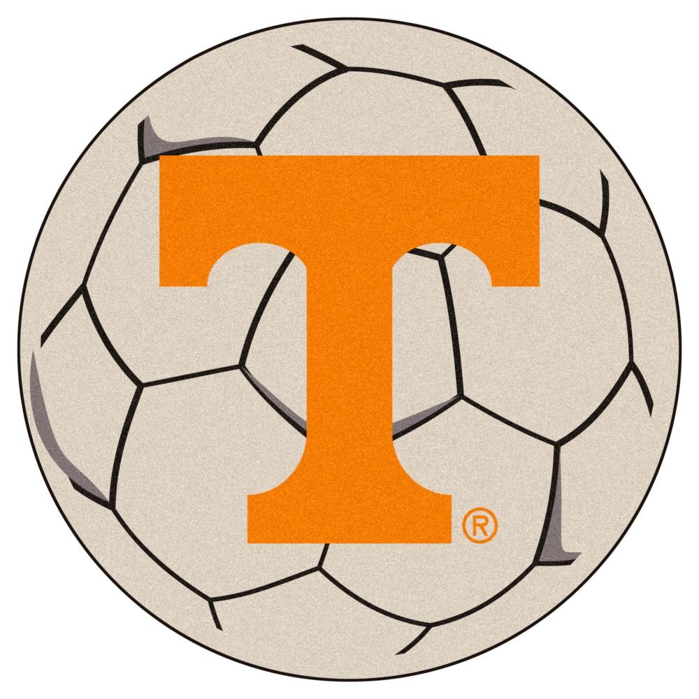 NCAA 27 Soccer Ball Mat Tennessee Volunteers