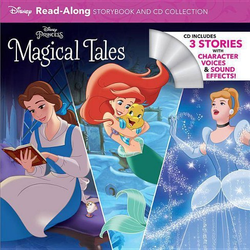 Disney Princess Magical Tales -  (Read-Along Storybook and CD) (Paperback) - image 1 of 1