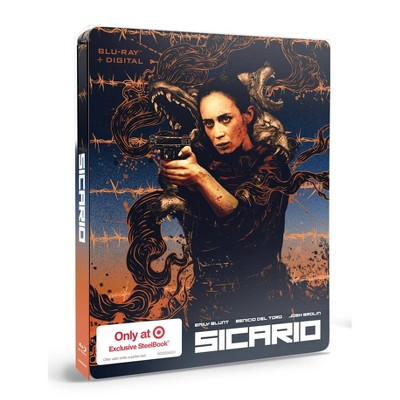 Sicario (Target Exclusive SteelBook)(Blu-ray + Digital)