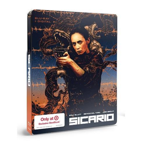 Sicario (Target Exclusive SteelBook)(Blu-ray + Digital) - image 1 of 2