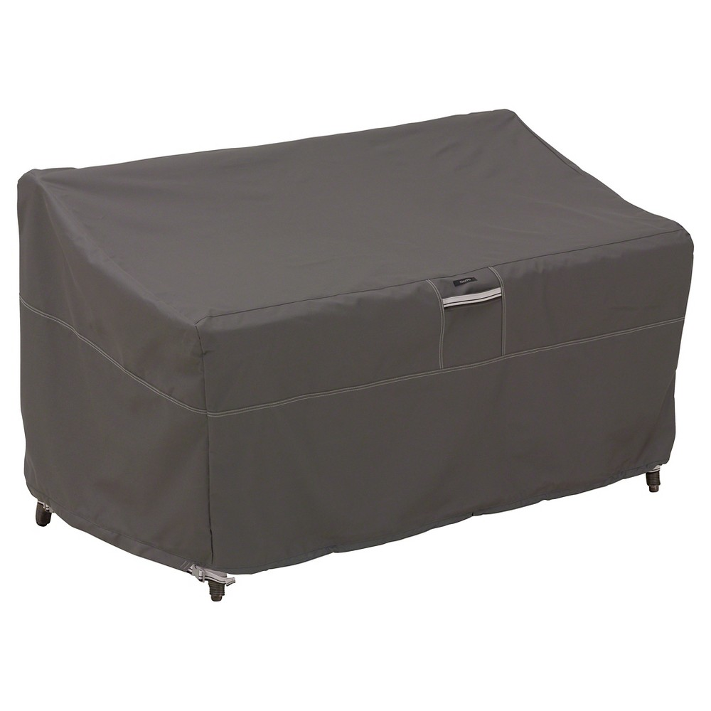Ravenna Small Patio Loveseat Cover - Dark Taupe - Classic Accessories