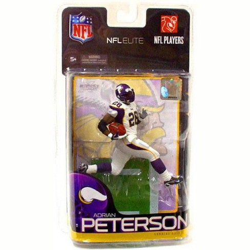 Minnesota Vikings McFarlane Toys NFL Sports Picks Exclusive NFL Elite Series 1 Action Figure Adrian Peterson