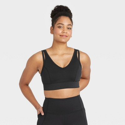 Women's Light Support V-Neck Brushed Bra - All in Motion™