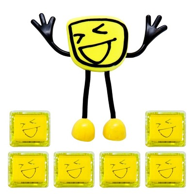 Glo Pals Character Alex & 6 Yellow Light Up Water Cubes