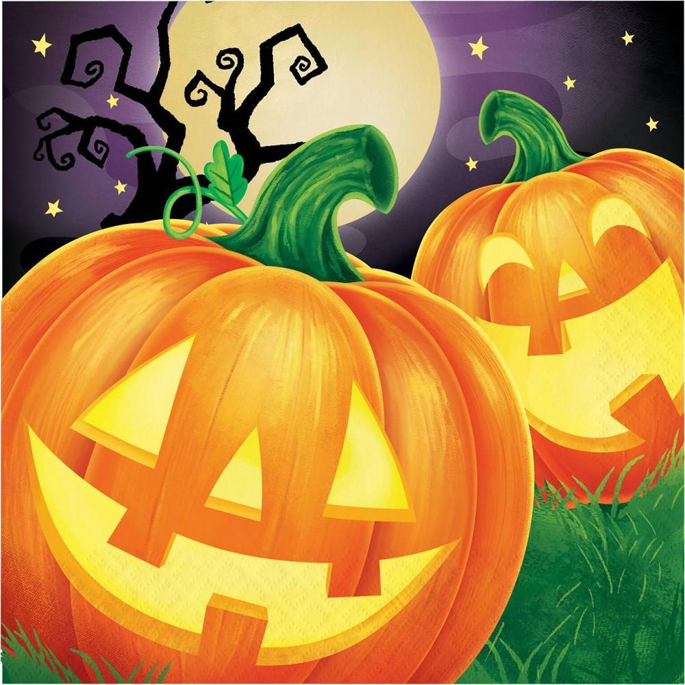 Halloween Pumpkin Napkins