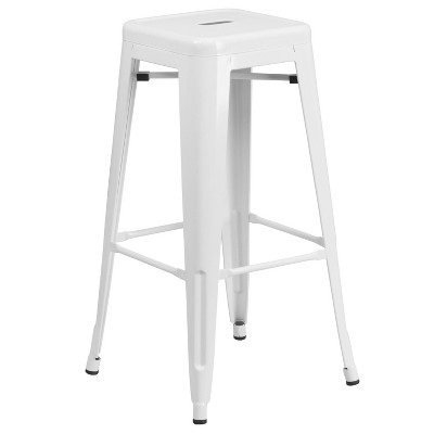 """30"""" Backless Metal Barstool - Riverstone Furniture Collection"""