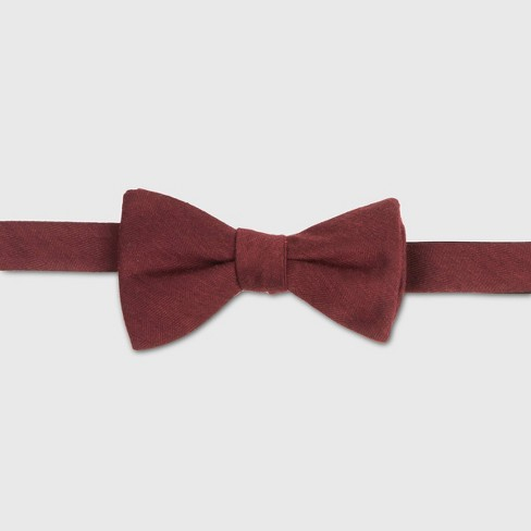 Men's Bowtie - Goodfellow & Co™ Berry Blush One Size - image 1 of 1