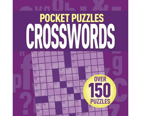 Pocket Puzzles Crosswords (Paperback) - image 1 of 1
