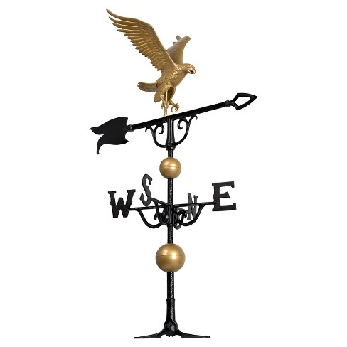 "46"" Eagle Weathervane - Gold-Bronze - Whitehall Products - image 1 of 1"