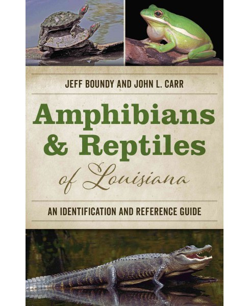 Amphibians & Reptiles of Louisiana : An Identification and Reference Guide (Paperback) (Jeff Boundy & - image 1 of 1