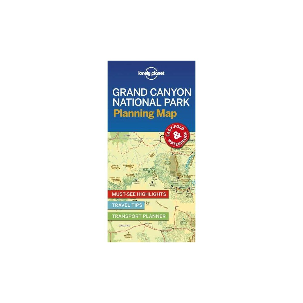 Lonely Planet Grand Canyon National Park Planning Map - Map (Paperback)