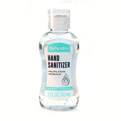 Defendr+ Anti- Trial Size - Bacterial Hand Sanitizer - Trial Size - 2 fl oz