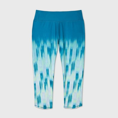Girls' Ombre Printed Performance Capri Leggings - All in Motion™