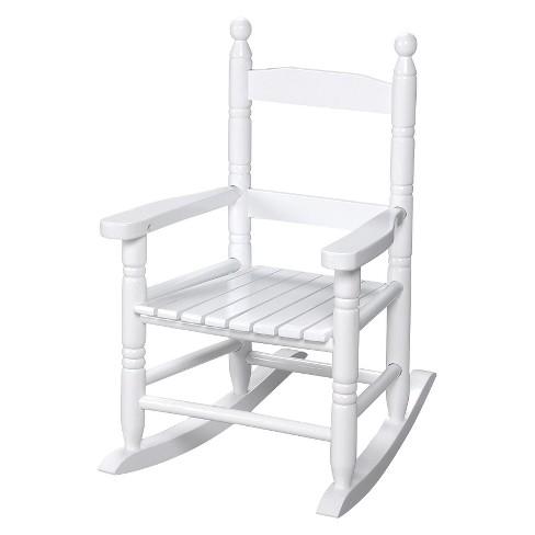 Amazing Gift Mark Slat Rocking Chair White Evergreenethics Interior Chair Design Evergreenethicsorg