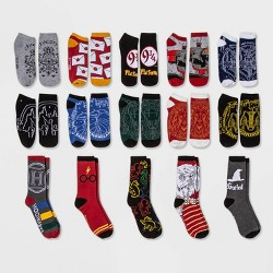 Women's Harry Potter Owl 15 Days of Socks Advent Calendar - Assorted Colors One Size