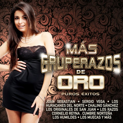 Various - Mas Gruperazos De Oro (CD) - image 1 of 1