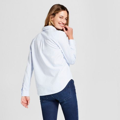 05fa517e711 Women s Long Sleeve Camden Button-Down Shirt - Universal Thread™   Target