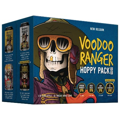 New Belgium Brewing Voodoo Ranger Hoppy Variety Pack - 12pk/12 fl oz Cans