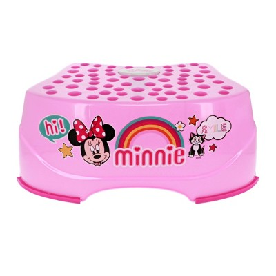 Disney Minnie Mouse Smiles Step 'N Glow Step Stool