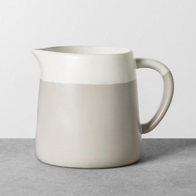 Beverage Server Stoneware Beige / White - Hearth & Hand™ with Magnolia