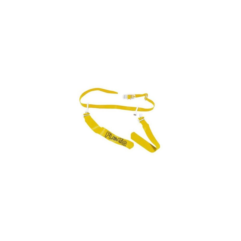 Sonic Boom Gold Flag Belt 52