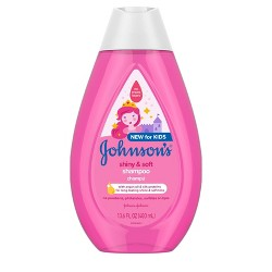 Johnson's Shiny and Soft Shampoo - 13.6 fl oz