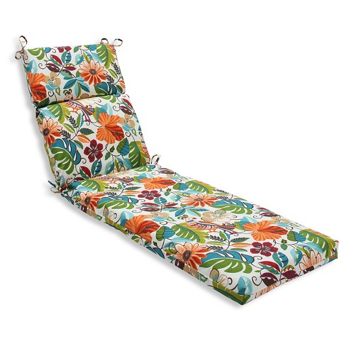 Pillow Perfect Outdoor One Piece Seat And Back Cushion - Off White - image 1 of 2