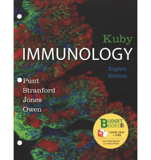 Kuby Immunology -  8 UNBND by Jenni Punt & Sharon A.  Stranford & Patricia P.  Jones (Paperback) - image 1 of 1
