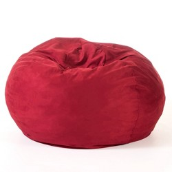 Madison Faux Suede Beanbag 5' - Christopher Knight Home