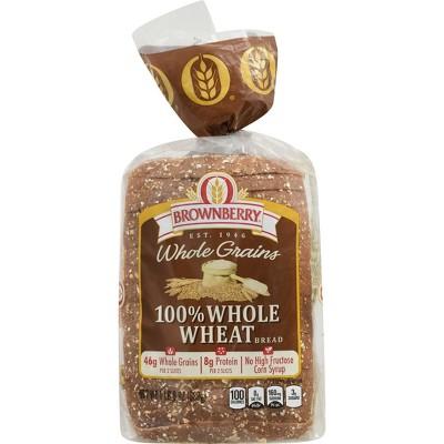 Brownberry 100% Whole Wheat Bread - 24oz