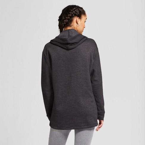 c5a9623629ace Women s Stranger Things® Fleece Hoodie (Juniors ) - Black   Target