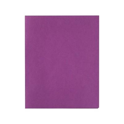 Staples School Grade 2 Pocket Folder Purple 25/Box 27536-CC