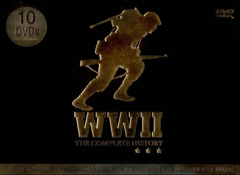 WWII: The Complete History [10 Discs] - image 1 of 1