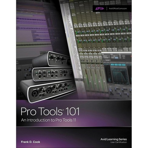 Cengage Learning Pro Tools 101: An Introduction to Pro Tools 11 BOOK/DVD - image 1 of 1