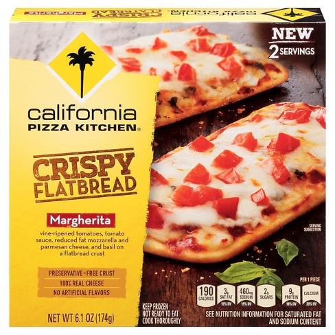 California Pizza Kitchen Margherita Crispy Frozen Flatbread 6 4oz Item