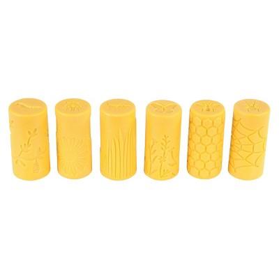 Yellow Door Garden Bugs Dough Rollers  - 6 Pieces