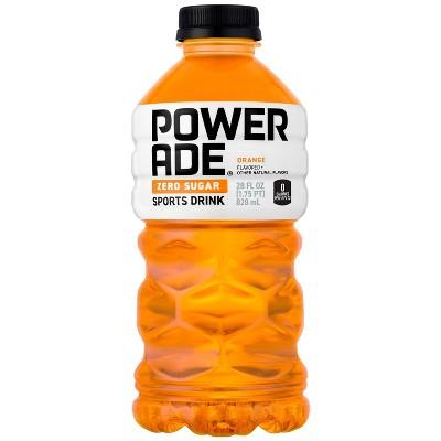 POWERADE Zero Orange Sports Drink - 28 fl oz Bottle
