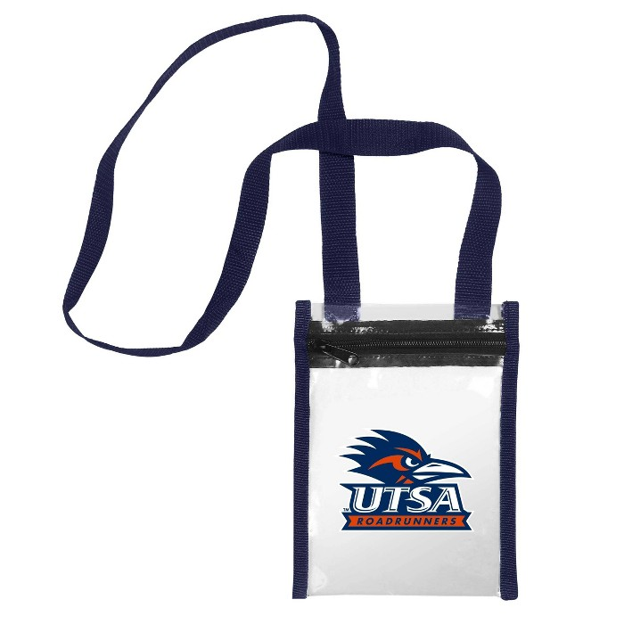 NCAA UTSA Roadrunners Clear Crossbody Messenger Bag - image 1 of 1
