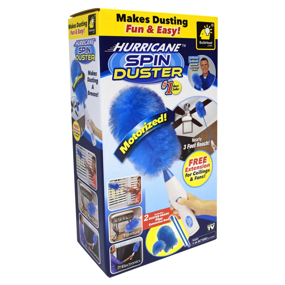 As Seen on TV Hurricane Spin Duster, Blue