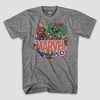 Marvel Mens Short Sleeve Graphic T-Shirt Deals