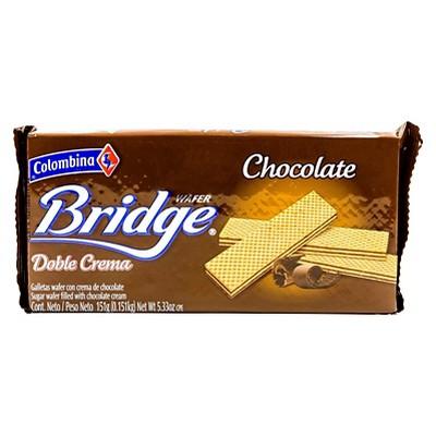 Colombina Bridge Chocolate Wafers - 5.33oz
