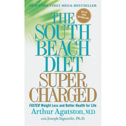 The South Beach Diet Supercharged - by  Arthur Agatston & Joseph Signorile (Paperback) - image 1 of 1