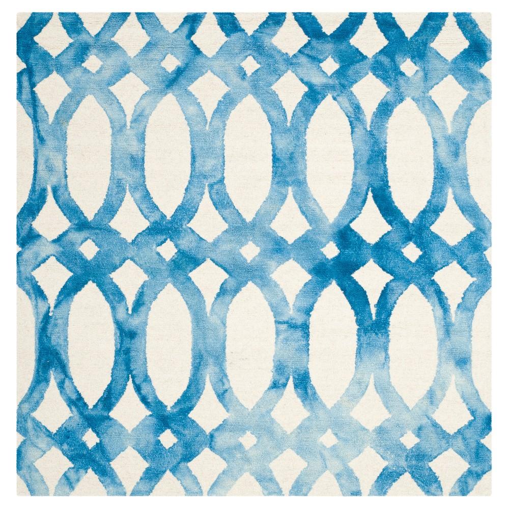 Adney Area Rug - Ivory/Blue (5'x5') - Safavieh