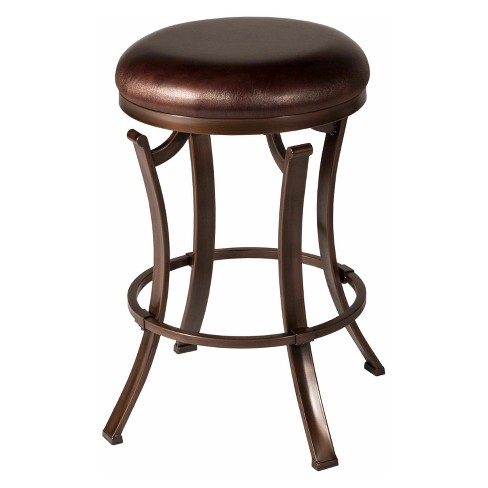 """Kelford Backless 26"""" Swivel Counter Stool Textured - Hillsdale Furniture - image 1 of 2"""