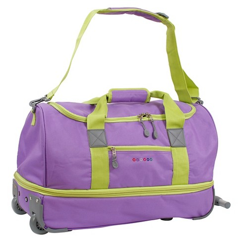 "J World Stadium 21"" Expandable Rolling Duffel - Orchid - image 1 of 5"